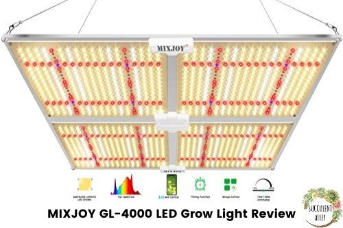 Mixjoy GL-4000 LED grow light review